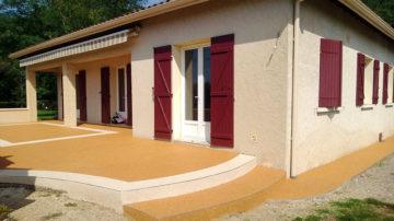 Terrasse moquette de pierre alsace | Resiway
