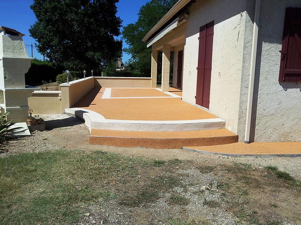 05 - Terrasse moquette de pierre alsace | Resiway