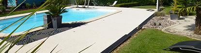 Tapis de pierre piscine alsace - Resiway