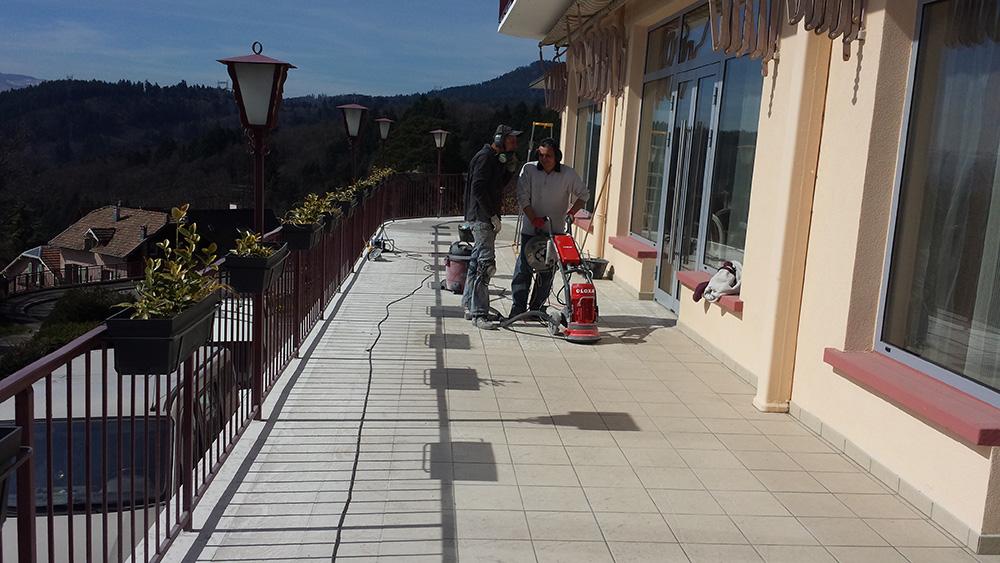 01 - Hotel alexain - Moquette de pierre alsace