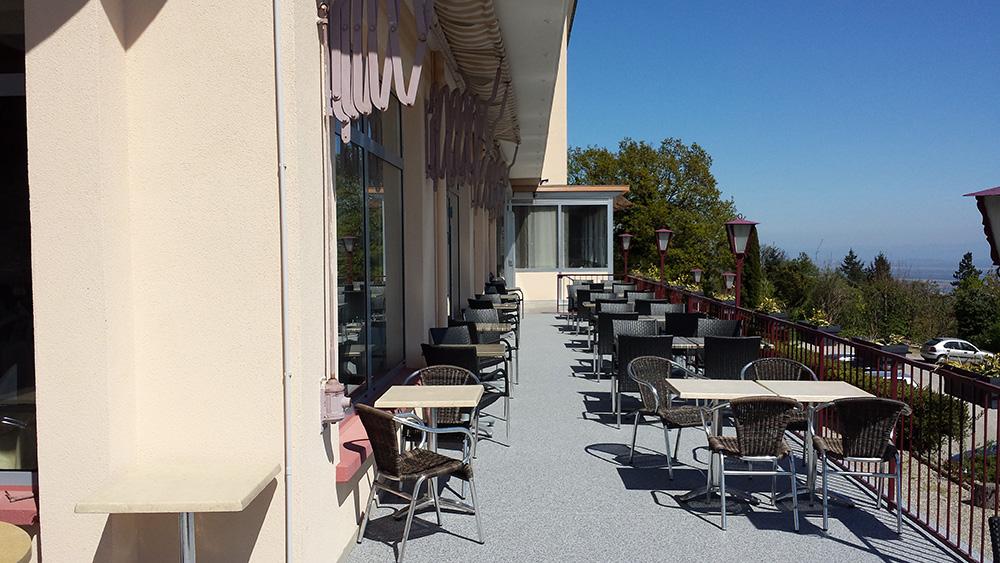 07 - Moquette de pierre strasbourg alsace - Restaurant terrasse