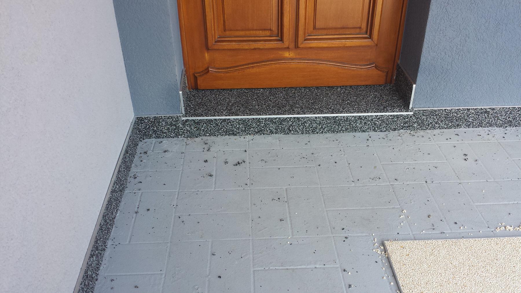 troesch - moquette pierre entrée maison - 08